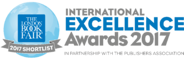 London Bookfair International Excellence Awards Finalist